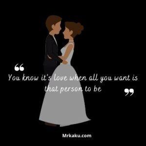 when you love someone
